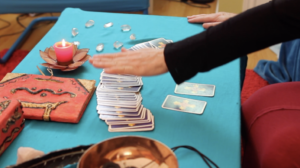 "Let's look into the cards, to get guidance and wisdoms.Courses: ""The Art Of Easy Tarot Card Reading"" ""The Art Of Advanced Tarot Card Reading"" ""Tarot Spreads"""