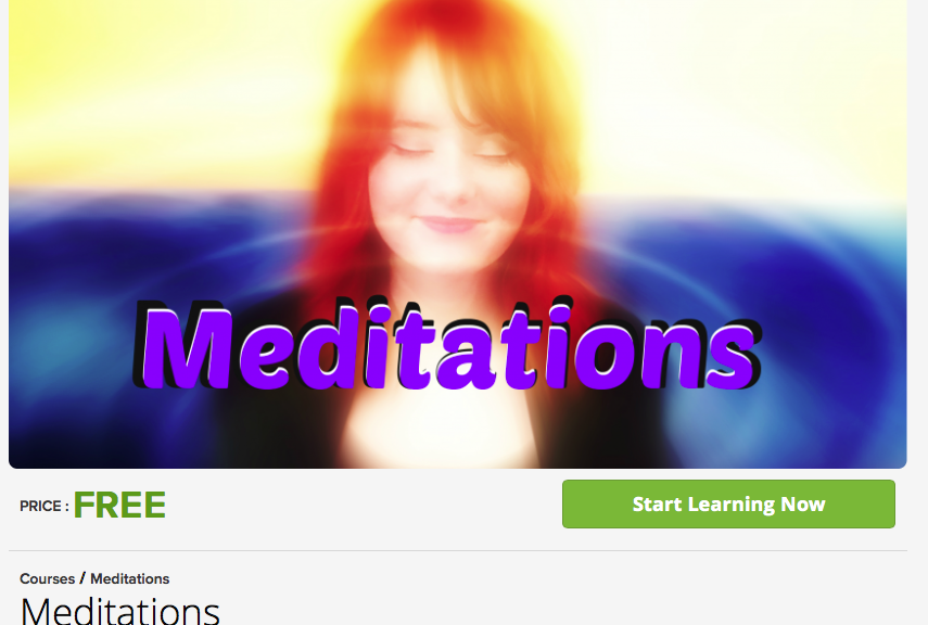 free meditation courses
