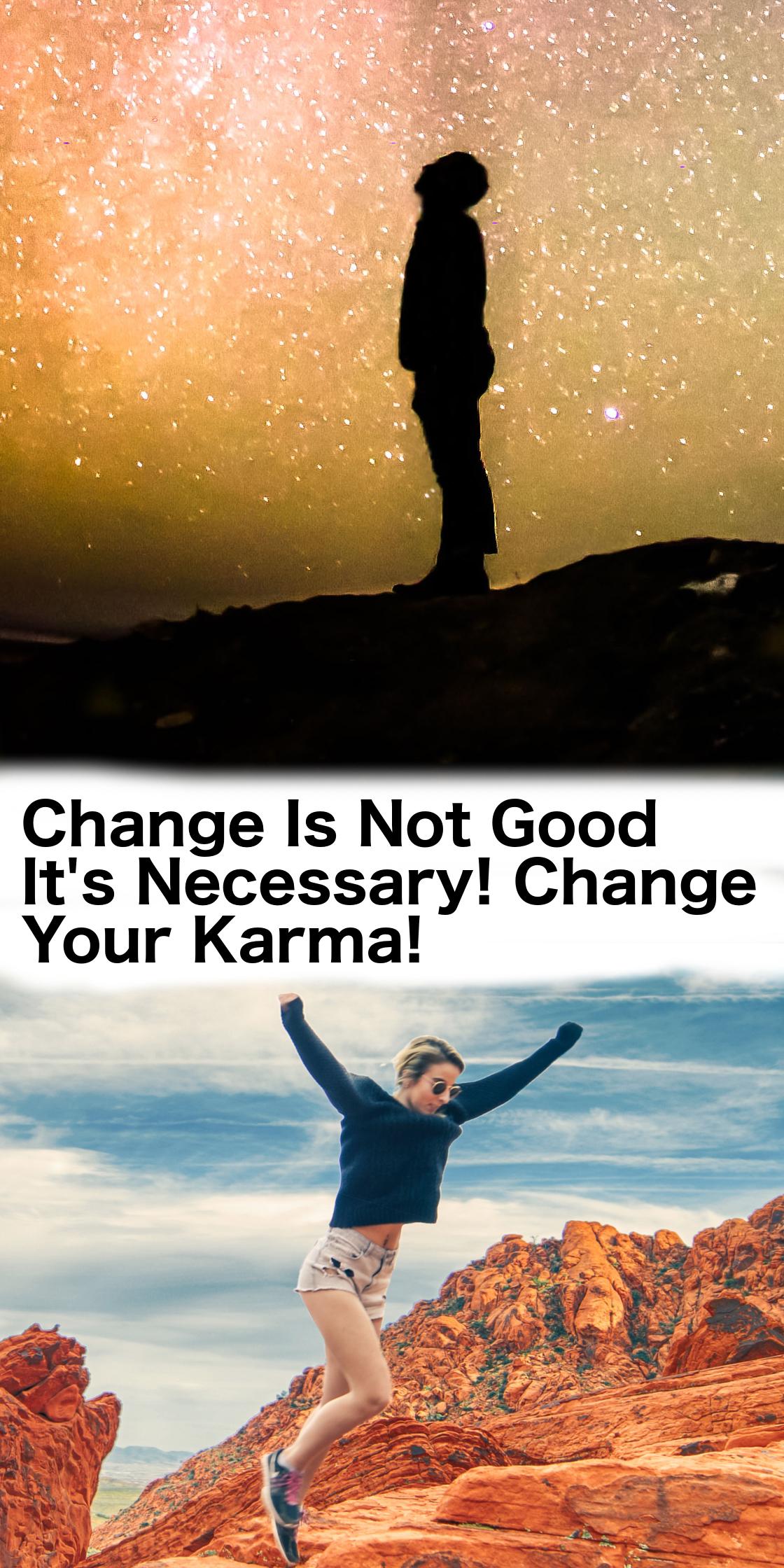 change your karma