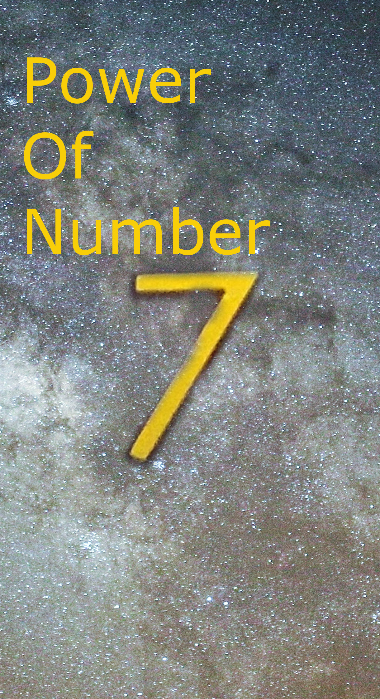 power of number 7