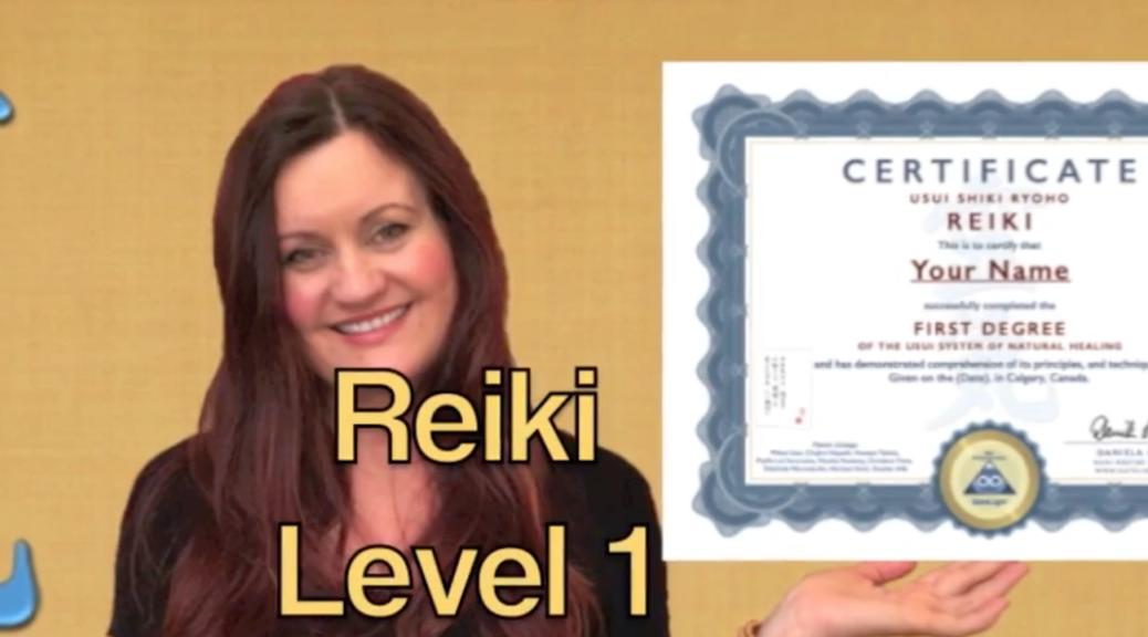 Reiki Level 1 Online: Certified!